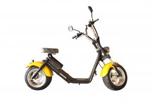 China EcoRider 1200W Long Range 2 Wheel Electric Scooter Citycoco with EEC for Adult on sale