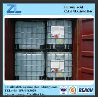 HCOOH 85%min Industrial Grade Formic Acid Cas No. 64-18-6