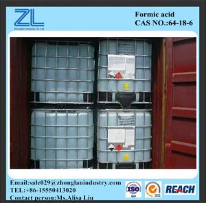 China HCOOH 85%min Industrial Grade Formic Acid Cas No. 64-18-6 on sale