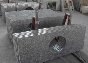 China G664 granite vanity top on sale