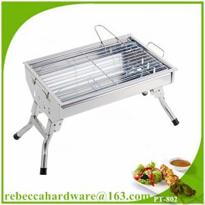 China Made in China stainless steel camping portable bbq grill on sale