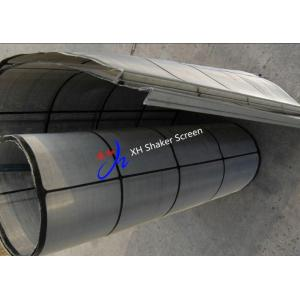 China Customized One Layer Rock Oil Drilling Fluid Vibrating Screen / Shaker Screen Mesh on sale