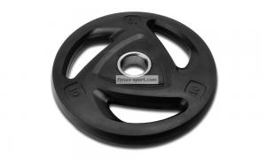 China Pro Rubber Olympic Tri-Grip Plate on sale