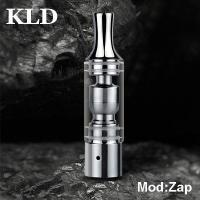 China Pyrex glass and stainless e-cigarette vaporizer Yo-Zap for dry herb and wax cartomizer on sale