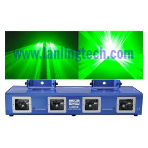 China Double Tunnel 532nm DPSS Laser Lighting Equipment L2632 on sale