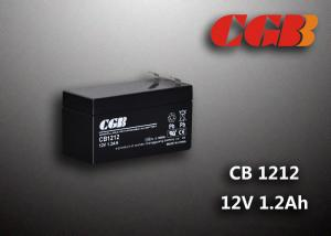 China 12 Volt 1.2AH CB121 Alarm System Batteries , UPS EPS SLA Rechargeable Battery on sale