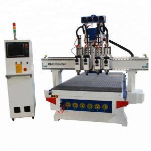 China Furniture Sculpture Wood Carving Router Machine , Woodworking CNC Machine 18KW on sale