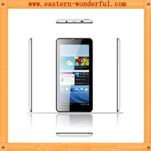 China 7'' MTK6572 narrow side android tablet phone with WCDMA850/2100 and GSM 850/900/1800/1900 on sale