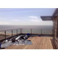 China Glass Panel Stainless Steel Glass Railing Post Balustrade Installation For Balcony on sale