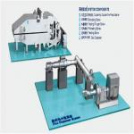 Low Power Disc Heat Disperser Pulping Equipment For Pulp And Paper Mill