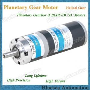 China 42mm 25W 30W BLDC Gear Motor Bruhsless with planetary gearbox on sale