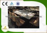 7 аттестация КЭ ИСО9001 исходного состояния таблицы гриля теппаньяки электрической индукции места