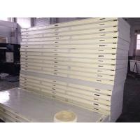 Color Steel Cold Room Insulation Panels 42 Kg / M³  PU Lock Panel For Workshop