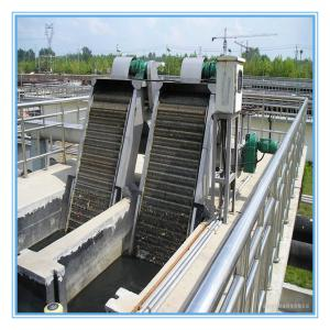 China automatic solid liquid separator mechanical rotary bar screen for domestic wastewater treatment on sale
