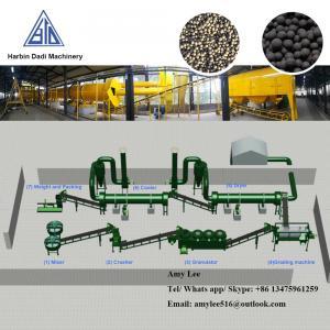 China KHL-700(2) Factory directly Bio fertilizer production line/Organic fertilizer plant on sale