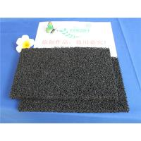 10 - 60 ppi PU Polyurethane Activated Carbon Air Filter Sponge For Ordor Gas
