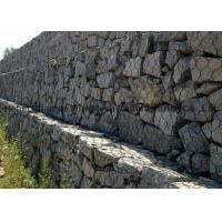 China Flood Bank  Protection Gabion Wire Mesh Wear And Abrasion Resistance For Stone Box on sale