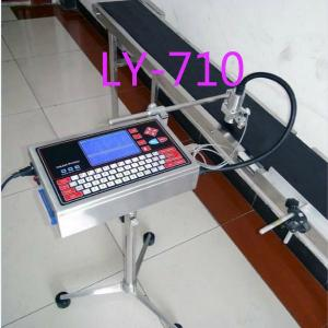 China Ly-710 Batch Number Marking Bar Code Plastic Pipe Inkjet Print/industrial printing machine on sale