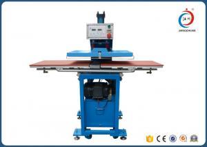 China Semi Automatic T Shirt Glass Sublimation Heat Press Machine Hydraulic Printing on sale