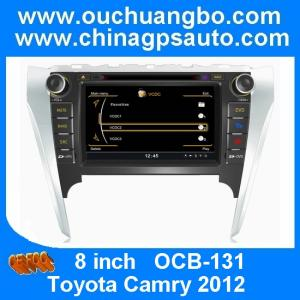 China Ouchuangbo S100 Toyota Camry 2012 tape recorder dvd gps with 1G CPU cancan bus multimedia player OCB-131 on sale