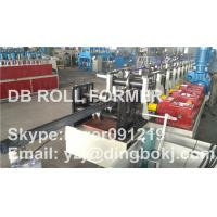 Solar PhotovoltaicPurlin Roll Forming Machine With Saw Cutting