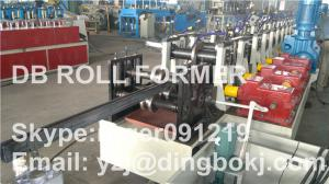 China Solar PhotovoltaicPurlin Roll Forming Machine With Saw Cutting on sale