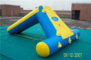 China Leaking Proof Inflatable Water Games Outdoor Blow Up Water Slides For Gardens on sale