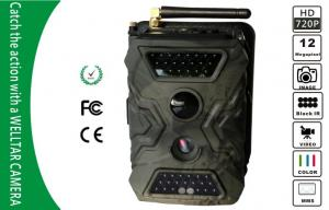 China Camouflage Wireless Remote Control Game Scouting Camera , HD 720P Video on sale