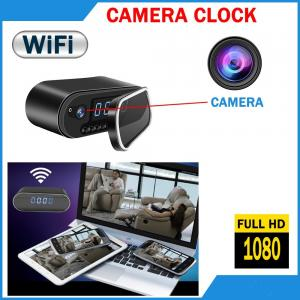 China Best selling products in Amazon hidden camera clock oem home security system baby monitoring camera Clock espion horloge on sale