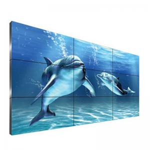 China DID Seamless Narrow Bezel LCD Video Wall 3.5mm 100 - 240V Power Supply For Public on sale