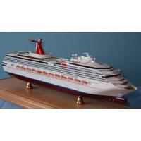 Triumph Carnival Cruise Ship Models Stimulation Technological Effect For Home