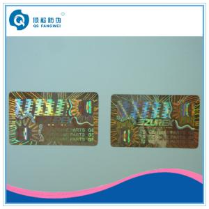 China Laser Custom Hologram Stickers , Air Conditioning Warranty Stickers Roll on sale