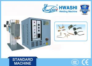 China Precision Spot Welder , Mini Spot Welding Machine with Single Head or Parallel Gap on sale