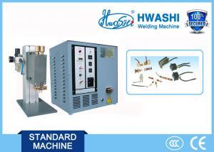 China Precision Spot Welder , Mini Spot Welding Machine with Single Head or Parallel Gap on sale