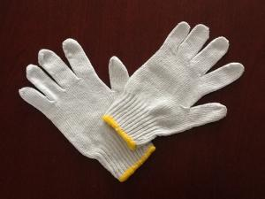 China gants fonctionnants de coton : 7/10/13 PVC de G POINTILLE des gants on sale