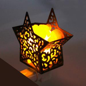 China Himalayan Glow Pink Hand Carved Crystal Salt Lamp Night Light on sale
