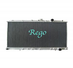 China Custom Racing Japanese Aluminum Car Radiators For MITSUBISHI EVO 1,2,3 MT on sale
