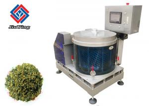 China Automatic Vegetable Processing equipment , Vegetable Dryer Machine With Three Baskets on sale