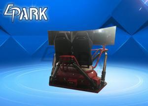 China 2018 Popular Racing Motion Car 6 Dof 360 Degree High Speed 3 Screen Vr Car on sale