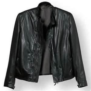 China O inverno S M L velo do XL XLL alinhou o couro de couro 100% homens polis do revestimento da lona on sale