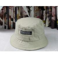 China custom logo cotton fit one colour Bucket Hat and Fishing Cap (YC-BK002) on sale