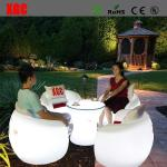 2016 Hot Selling Whaterproof Furniture LED Glowing Chair For Outdoor Yard Garden Party Club Event Park