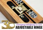 European Style 3D Adjustable Concealed Wooden Door Hinge 36mm Door Hinge