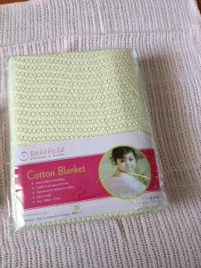 China 100% cotton Cellular Thermal Blanket,Waffle Blankets,Leno Blankets,Baby Cellular Blankets on sale