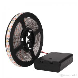 China RGB/Warm/Cool SMD 3528 LED Strip Light Waterproof String Lamp with Control Box 2m/1m/0.5m on sale