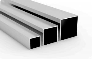 China Supply aluminium square tubes in sifferent sizes on sale