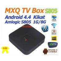 MXQ 2nd Gen.(Red) Quad Core Android TV BOX Amlogic S805 CPU Full Load KODI XMBC