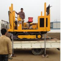 DYLC light model CPT soil investigation drill rigs on site testing machine