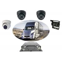 China 720P HDD Mobile DVR 3G GPS Optional Multi Camera Car DVR For Bus Tracking on sale