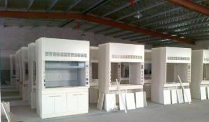 China Ventilated Table Steel Table Exhaust Cabinet , Full Steel Fume Hood All Steel on sale